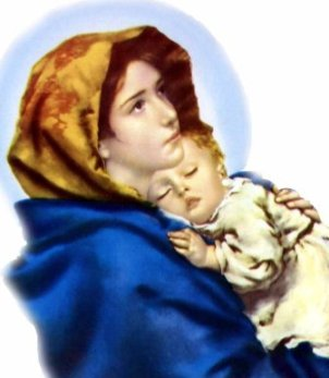 mary mother of jesus, family prayer, mary